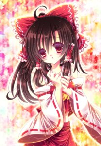 Rating: Safe Score: 15 Tags: hakurei_reimu momomiya_mion touhou User: blooregardo