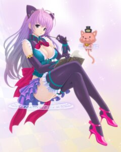 Rating: Questionable Score: 29 Tags: animal_ears cleavage kanzeon neko nekomimi thighhighs User: mash