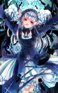 Rating: Safe Score: 9 Tags: dress gothic_lolita kyara36 lolita_fashion rozen_maiden suigintou wings User: charunetra