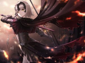 Rating: Safe Score: 25 Tags: armor cow-ring fate/grand_order jeanne_d'arc jeanne_d'arc_(alter)_(fate) sword User: Dreista