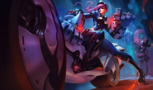Rating: Safe Score: 23 Tags: caitlyn cleavage gun heels jinx league_of_legends megane police_uniform tagme vi_(league_of_legends) User: Radioactive