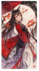 Rating: Safe Score: 27 Tags: amagi_(azur_lane) animal_ears azur_lane kimono mento umbrella User: Mr_GT