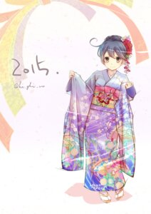 Rating: Safe Score: 25 Tags: haiiro kantai_collection kimono ushio_(kancolle) User: Mr_GT
