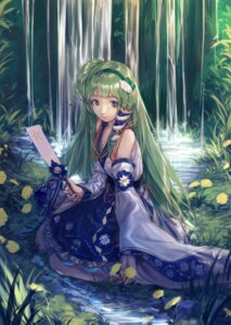 Rating: Safe Score: 13 Tags: chun_lanlanlan kochiya_sanae touhou User: Mr_GT