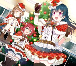 Rating: Safe Score: 31 Tags: christmas garter kunikida_hanamaru kurosawa_ruby love_live!_sunshine!! thighhighs tipii tsushima_yoshiko User: Mr_GT