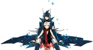 Rating: Safe Score: 15 Tags: anthropomorphization dialga hikari_(pokemon) pokemon starshadowmagician User: charunetra