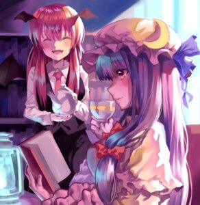 Rating: Safe Score: 15 Tags: koakuma patchouli_knowledge tagme touhou wings User: Mr_GT