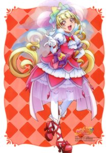Rating: Safe Score: 10 Tags: aisaki_emiru dress heels hugtto!_precure kawamura_toshie see_through thighhighs User: drop