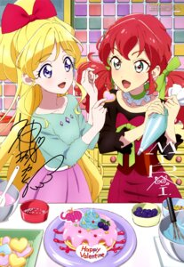 Rating: Safe Score: 14 Tags: aikatsu_friends! asuka_mirai_(aikatsu_friends!) autographed dress kamishiro_karen miyatani_risa valentine User: drop