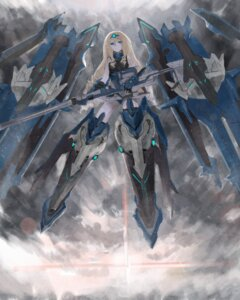 Rating: Safe Score: 32 Tags: bodysuit cecilia_alcott daro_(645046276) gun infinite_stratos mecha_musume thighhighs User: Radioactive
