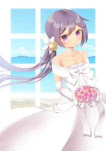 Rating: Safe Score: 21 Tags: akebono_(kancolle) dress kantai_collection wedding_dress yuu_zaki User: Mr_GT