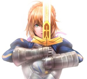 Rating: Safe Score: 11 Tags: armor fate/stay_night saber sword zucchini User: Spidey