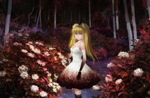 Rating: Safe Score: 21 Tags: cleavage dress huazha01 thighhighs User: mash