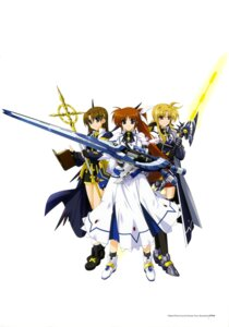 Rating: Safe Score: 16 Tags: fate_testarossa higa_yukari jpeg_artifacts mahou_senki_lyrical_nanoha_force mahou_shoujo_lyrical_nanoha takamachi_nanoha yagami_hayate User: CryFleuret