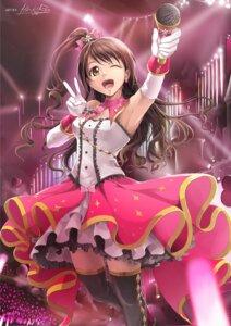 Rating: Safe Score: 21 Tags: hiroki_ree shimamura_uzuki the_idolm@ster the_idolm@ster_cinderella_girls thighhighs User: saemonnokami