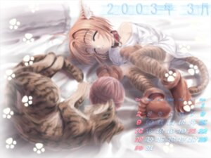 Rating: Safe Score: 13 Tags: calendar card_captor_sakura kinomoto_sakura moonknives wallpaper User: MugiMugi