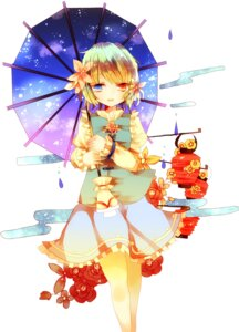 Rating: Safe Score: 19 Tags: cha_goma heterochromia tatara_kogasa touhou umbrella User: charunetra