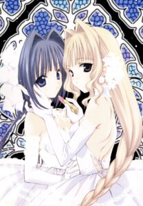 Rating: Safe Score: 17 Tags: dress nanase_aoi report_of_nature_spirits screening wedding_dress User: admin2
