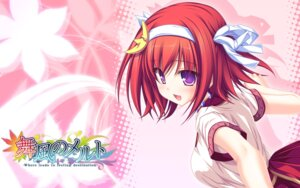 Rating: Safe Score: 21 Tags: maikaze_no_melt tenmaso tsubaki_nazuna wallpaper User: Harpuia