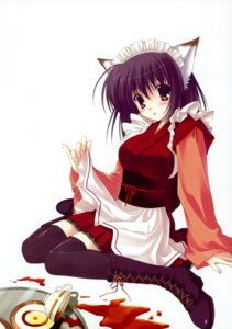 Rating: Safe Score: 20 Tags: animal_ears lolita_fashion nanao_naru nekomimi thighhighs wa_lolita User: crim
