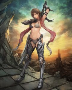 Rating: Safe Score: 47 Tags: armor bikini_armor cleavage miche sword thighhighs User: NotRadioactiveHonest