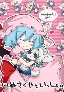 Rating: Safe Score: 2 Tags: black_angel izayoi_sakuya nejiki_rio remilia_scarlet touhou User: Radioactive