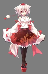 Rating: Safe Score: 53 Tags: akeboshi_kagayo animal_ears inubashiri_momiji pantyhose tail touhou transparent_png User: ddns001