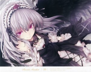 Rating: Safe Score: 104 Tags: dress gothic_lolita lolita_fashion overfiltered rozen_maiden suigintou tousen wings User: Radioactive