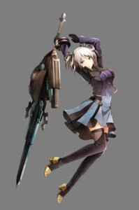 Rating: Safe Score: 31 Tags: ciel_alanson ciel_alencon dress god_eater heels sword tagme thighhighs transparent_png User: NotRadioactiveHonest