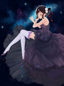 Rating: Safe Score: 49 Tags: dress heels kimi_no_na_wa miyamizu_mitsuha spidey94 thighhighs User: mash