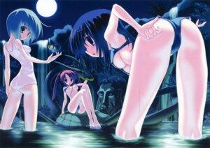Rating: Questionable Score: 58 Tags: areola ass bikini erect_nipples kokonobi swimsuits underboob User: midzki