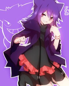 Rating: Safe Score: 41 Tags: anthropomorphization bike_shorts gengar pokemon takeshima_(nia) User: charunetra