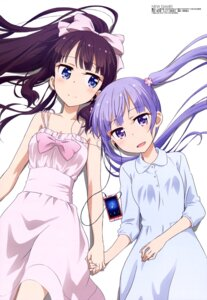 Rating: Safe Score: 113 Tags: dress kikuchi_ai new_game! suzukaze_aoba takimoto_hifumi User: drop