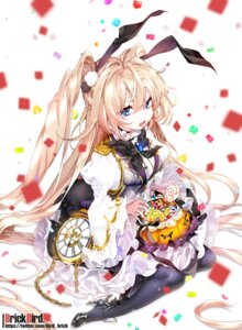 Rating: Safe Score: 34 Tags: animal_ears brickbird bunny_ears halloween heels pantyhose User: BattlequeenYume