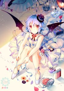 Rating: Safe Score: 50 Tags: dress heels kirero remilia_scarlet touhou wings User: blooregardo