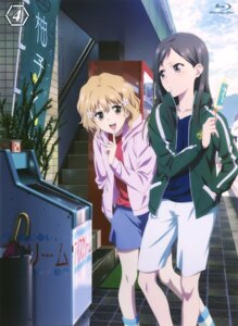 Rating: Safe Score: 26 Tags: disc_cover hanasaku_iroha matsumae_ohana tsurugi_minko User: xiaowufeixia