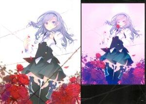 Rating: Safe Score: 19 Tags: machine-doll_wa_kizutsukanai ruroo seifuku thighhighs User: red_destiny