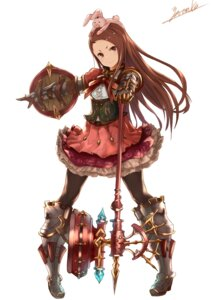 Rating: Questionable Score: 54 Tags: armor granblue_fantasy heels minase_iori pantyhose the_idolm@ster weapon yatsuka_(846) User: fireattack