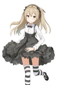 Rating: Safe Score: 21 Tags: girls_und_panzer shimada_arisu skirt_lift thighhighs unscpro User: saemonnokami