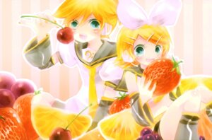Rating: Safe Score: 4 Tags: kagamine_len kagamine_rin shimeko vocaloid User: charunetra