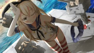 Rating: Questionable Score: 53 Tags: kantai_collection kanz pantsu rensouhou-chan shimakaze_(kancolle) thighhighs User: Poubelle