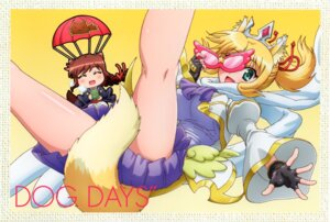 Rating: Safe Score: 24 Tags: animal_ears brioche_d'arquien chibi dog_days tail yukikaze_panettone User: DDD