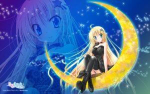 Rating: Questionable Score: 26 Tags: dress horii_kumi kagura_aya pantsu se.kirara thighhighs wallpaper User: sy1412