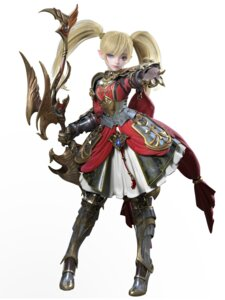 Rating: Safe Score: 15 Tags: armor cg heels lineage_2 pointy_ears weapon User: saemonnokami