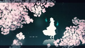 Rating: Safe Score: 20 Tags: agent_no.9 landscape saigyouji_yuyuko touhou wallpaper User: charunetra
