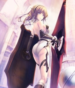Rating: Safe Score: 75 Tags: ass leotard tenmaso thighhighs weapon User: mattiasc02
