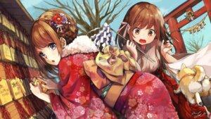 Rating: Safe Score: 33 Tags: kimono miko pomu User: Mr_GT