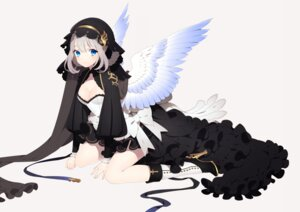 Rating: Safe Score: 51 Tags: asahi_nini cleavage dress heels wings User: charunetra