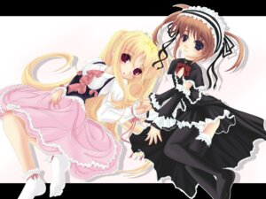 Rating: Safe Score: 5 Tags: fate_testarossa frapowa mahou_shoujo_lyrical_nanoha takamachi_nanoha wallpaper User: Kamisama