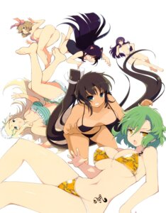 Rating: Questionable Score: 45 Tags: animal_ears ass bikini cleavage haruka_(senran_kagura) hikage homura_(senran_kagura) mirai_(senran_kagura) nekomimi school_swimsuit senran_kagura suzune_(senran_kagura) swimsuits tan_lines tattoo underboob yaegashi_nan yomi_(senran_kagura) User: fireattack